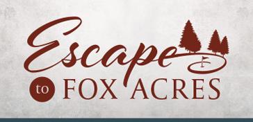 Escape to Fox Acres logo